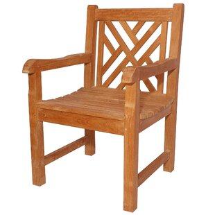 Anderson Teak Vilano Teak Patio Dining Chair