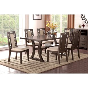 Stephens 7 Piece Dining Set by Canora Grey Best Design