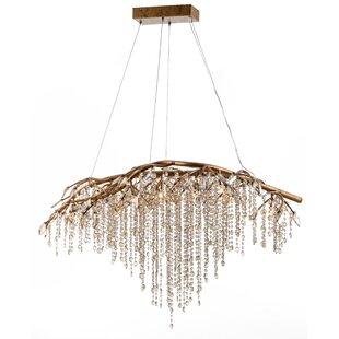 House of Hampton Cook 11-Light Crystal Chandelier