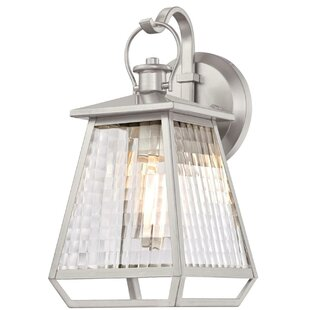 Inexpensive Aldrich LED Outdoor Wall Lantern By Highland Dunes