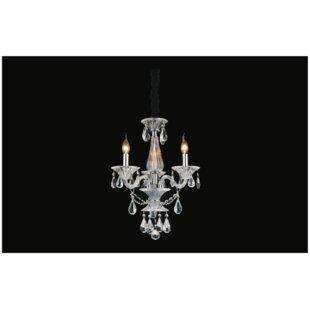 Astoria Grand Zac 3-Light Chandelier