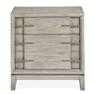 Eichhorn Wood 2 Drawer Nightstand