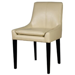 Thorton Bonded Leather Upholstered Dining Chair Union Rustic
