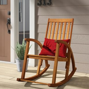 Bross Teak Rocking Chair