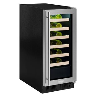 24 Bottle High-Efficiency Single Zone Built-In Wine Cooler by Marvel