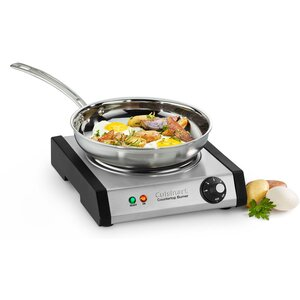 Single Cast-Iron Burner for Countertop Use