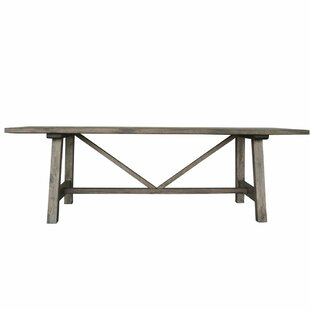 Gracie Oaks Karole Solid Wood Dining Table