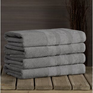 Cressex 100% Cotton Bath Towel (Set of 4)