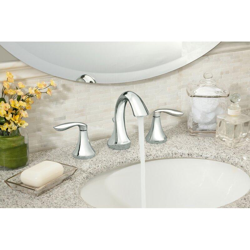 Moen Eva Widespread Bathroom Faucet Reviews Wayfair - Where to buy bathroom faucets near me