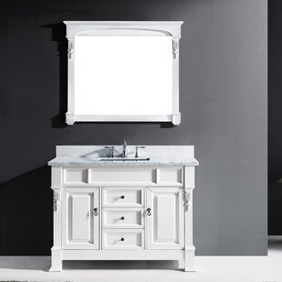 Find a Oden 47 Single Bathroom Vanity Set with Mirror By Charlton Home
