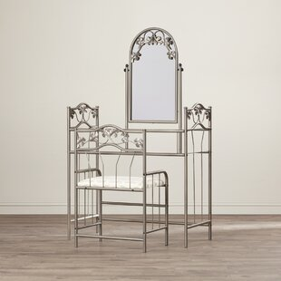 Olympic Vanity Set with Mirror by Red Barrel Studio