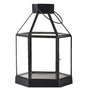 Hexagon Glass Lantern