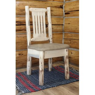 Abordale Natural Side Chair by Loon Peak Looking for