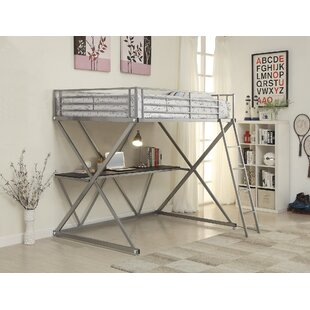 West Bridgewater Metal Workstation Bunk Configuration Bed