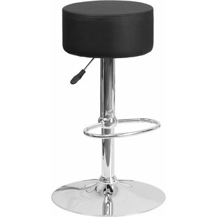 Compare prices Whelan Backless Adjustable Height Swivel Bar Stool by Orren Ellis Reviews (2019) & Buyer's Guide