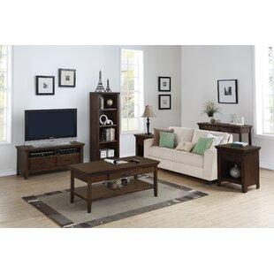 Hazelwood Home Rockwell 3 Piece Coffee Table Set