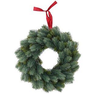 Christmas 40cm Lighted Pine Wreath By The Seasonal Aisle