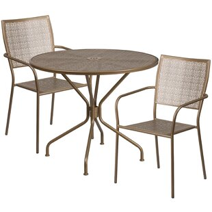 Gerda 3 Piece Bistro Set by Zipcode Design