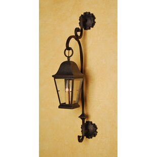 Greenbaum 3-Light Outdoor Wall Lantern by..