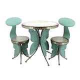 Dolder Grand Old Butterfly 3 Piece Bistro Set