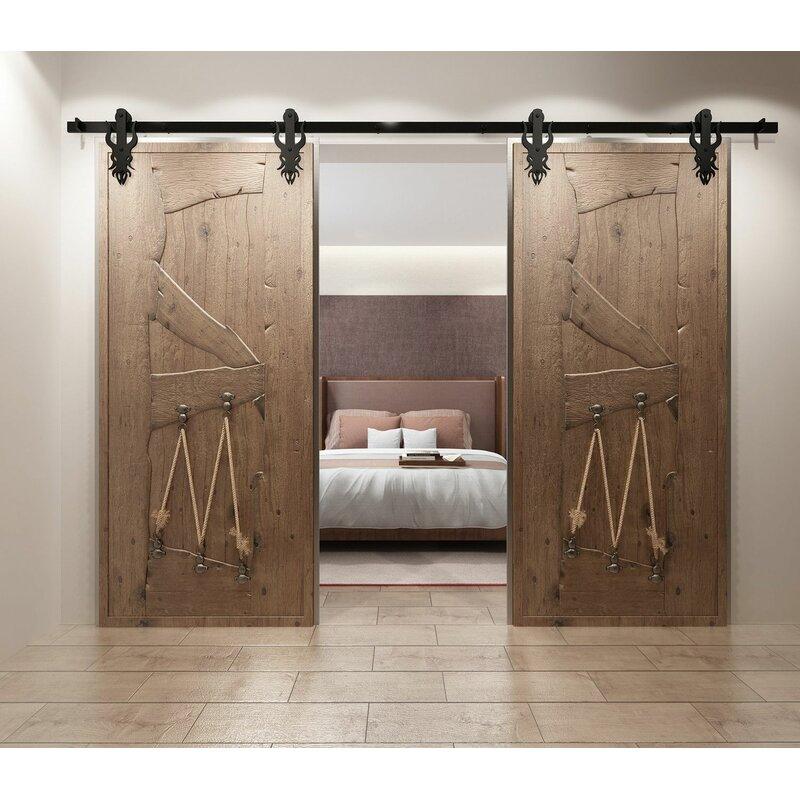 Imperial Barn Door Hardware & Homacer Imperial Barn Door Hardware | Wayfair