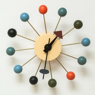 Petrella Ball 13 Wall Clock by George Oliver