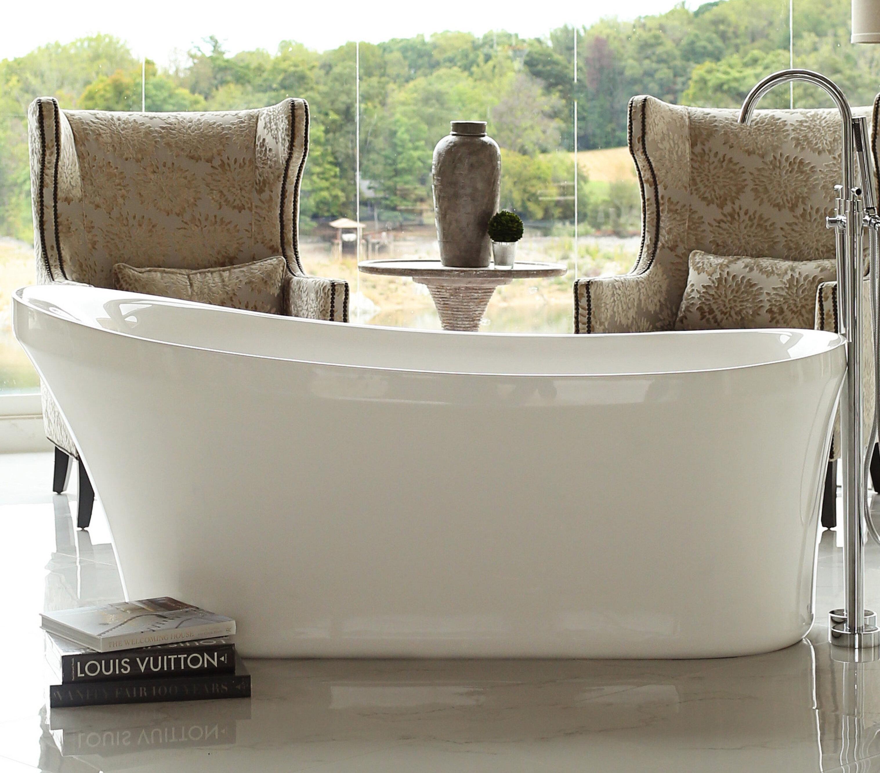 wht acrylic w freestanding r wyndham bathtubs bathtub aquatica h idea x
