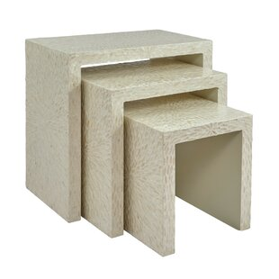 Autrey Wooden 3 Piece Nesting Tables