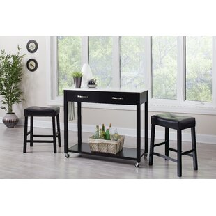 Danae 3 Piece Dining Set