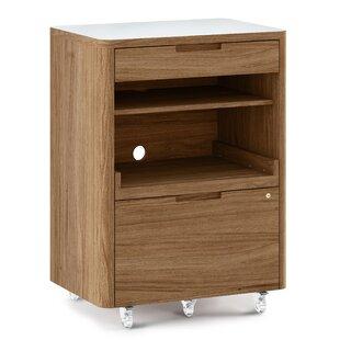 BDI Kronos Mobile Filing Cabinet