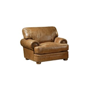 Houston Leather Chair by Omnia..