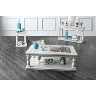 Conti 3 Piece Coffee Table Set by Ophelia & Co.