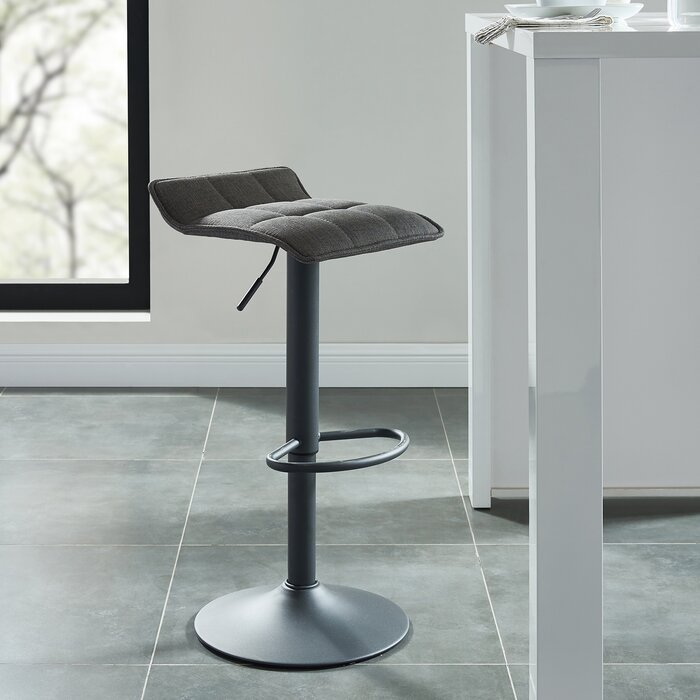 Strange Ean Adjustable Height Swivel Bar Stool Caraccident5 Cool Chair Designs And Ideas Caraccident5Info