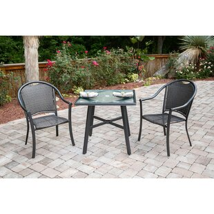 Gazaway 3 Piece Bistro Set by Charlton Home