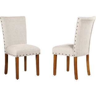 Winston Porter Keyesport Parsons Chair (Set of 2)