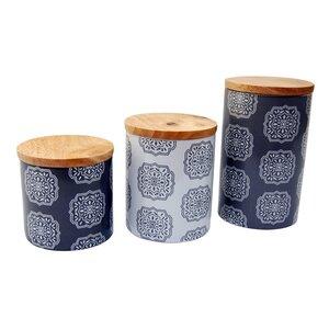 Ceramic 3 Piece Kitchen Canist...