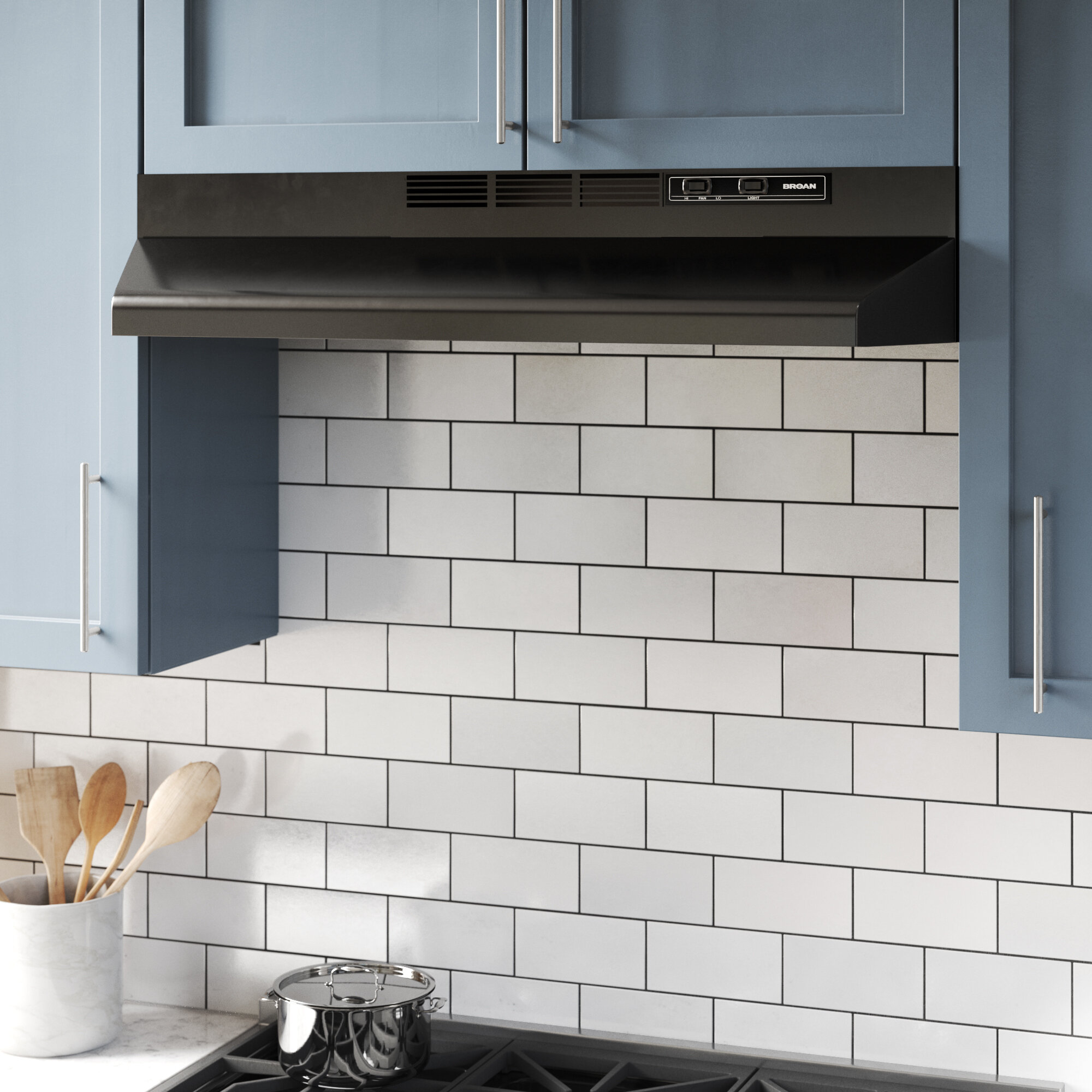 Image of: How To Choose The Best Range Hood For Your Kitchen Wayfair