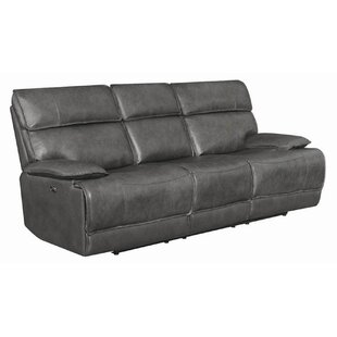 Caughfield 2 Piece Leather Reclining Living Room Set by Latitude Run
