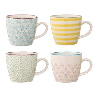 Botelho 4 Piece Coffee Mug Set