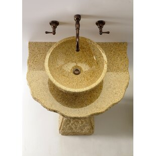 Pillar Divine Stone Specialty Vessel Bathroom Sink Quiescence