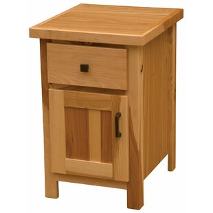 Online Reviews Simply 1 Drawer Nightstand by Fireside Lodge