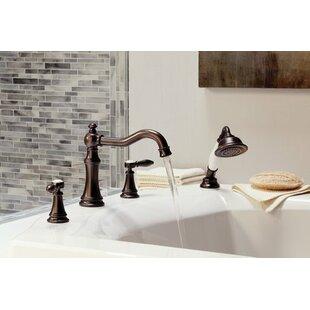 Moen Weymouth Two Handle Diverter Roman Tub Faucet