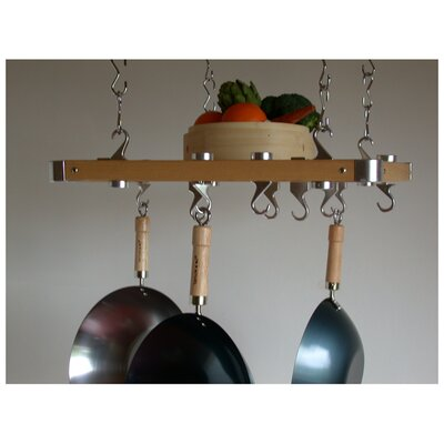 Track Rack European Ceiling Hanging Pot Rack Taylor & Ng
