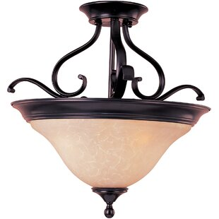 Winford 3-Light Semi-Flush Mou..