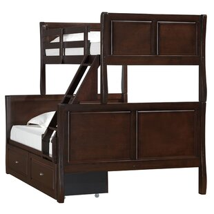 Chamblee Twin Over Full Bunk Bed By Simmons Casegoods by Harriet Bee New