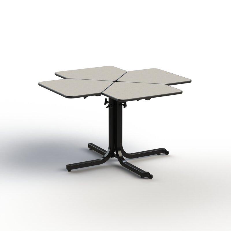 Table de salle à manger extensible accessible en fauteuil roulant