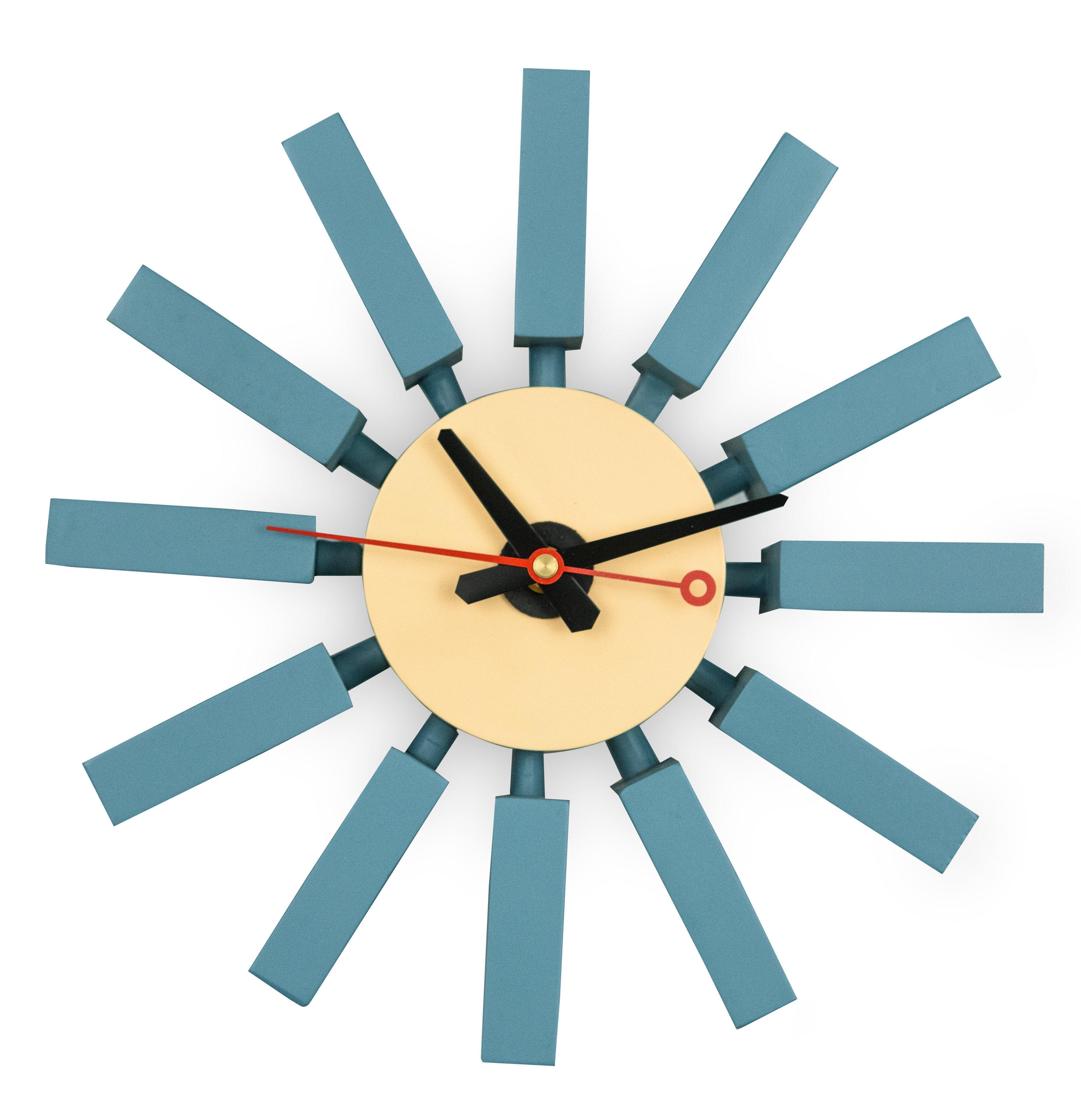 Flor 11 Wall Clock