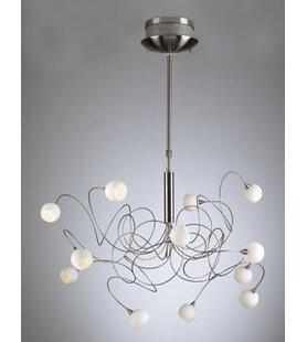 Orren Ellis Medrano 12-Light Sputnik Chandelier