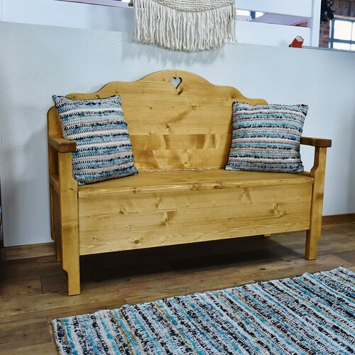 Dambrosio Wood Storage Bench Union Rustic