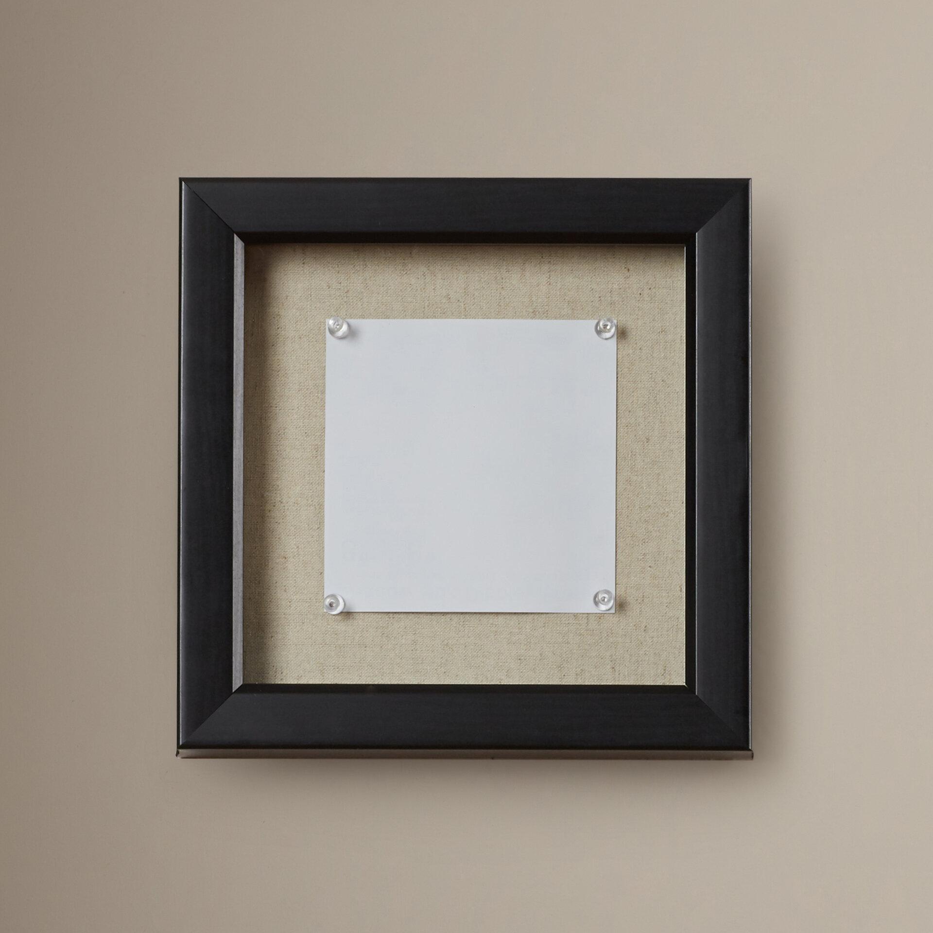 Charlton Home Silsden Linen Inner Display Board Shadow Box Picture ...
